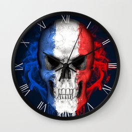 To The Core Collection: France Wall Clock