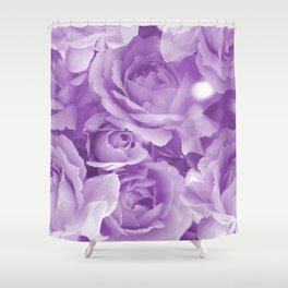 Violet Rose Bouquet For You - Valentine's Day #decor #society6 #homedecor Shower Curtain