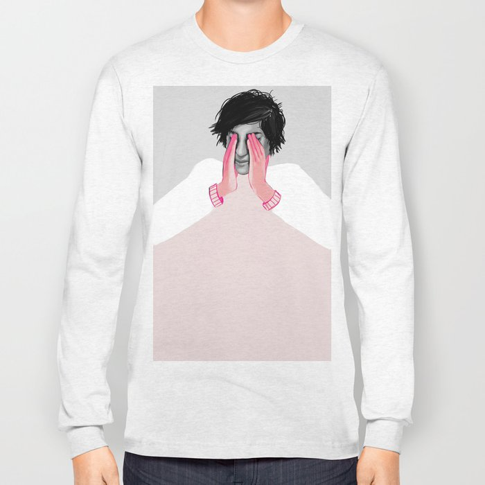 A Touch of Pink 02 Long Sleeve T-shirt
