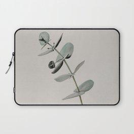 Stretch: minimalist botanical eucalyptus Laptop Sleeve