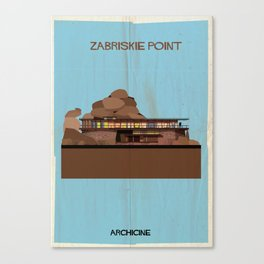 Zabriskie point Directed by Michelangelo Antonioni Canvas Print