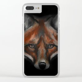 Fox #1 - 2015 Clear iPhone Case