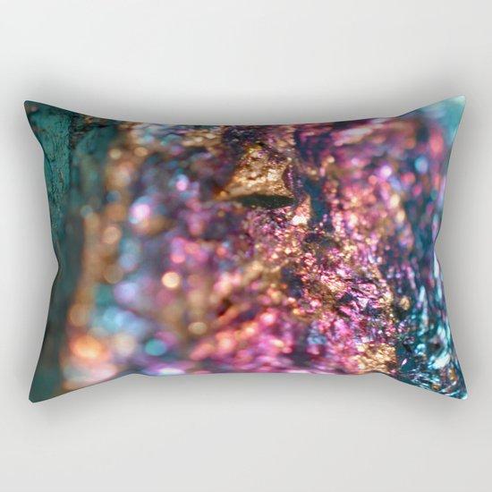 Peacock Ore Rectangular Pillow