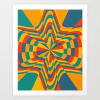 trippy Art Prints featuring Trippy by Ashley