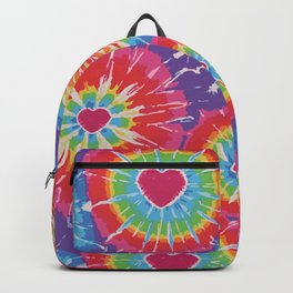 Love Tye Dye Backpack