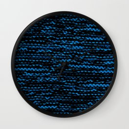 Knitted Wall Clock