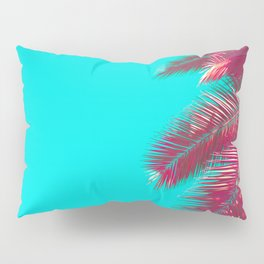 Neon Palm Pillow Sham