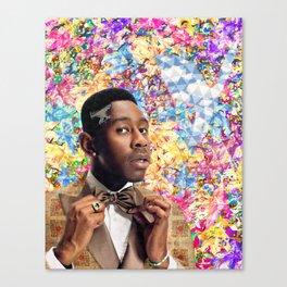Tyler the Creator portrait artwork Canvas Print