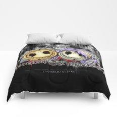 Totenknopf & Totenknöpfen Comforters