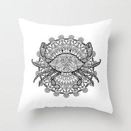 Cancer Mantra Throw Pillow