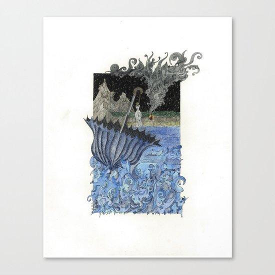Current Express Canvas Print