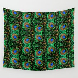 Peacock Feather heaven Wall Tapestry