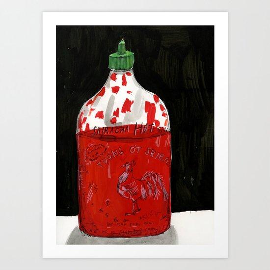 Hot Sauce Art Print