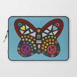 Peace mosaic butterfly Laptop Sleeve
