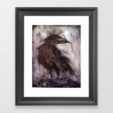 Strange Mind Framed Art Print