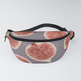 Big Figs Pattern grey Fanny Pack