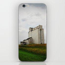 Grain Elevator on the Canadian Prairie iPhone Skin