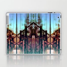 Flipped On - Abstract Geometry Photo Laptop & iPad Skin