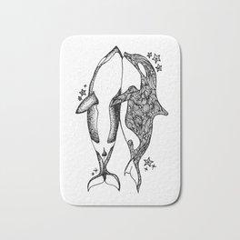 Killer Whales Bath Mat