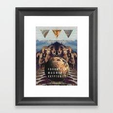MYSTIC//FORGOTT Framed Art Print