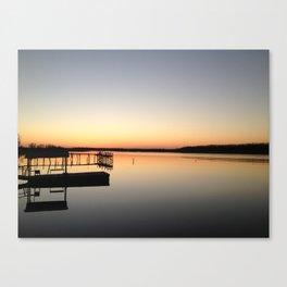 Lake Beulah, Bolivar County, Mississippi Canvas Print