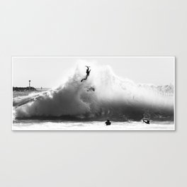 The Launch  Canvas Print
