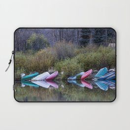 Downtime at Beaver Lake Laptop Sleeve