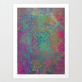 magic mandala 41 #magic #mandala #decor Art Print