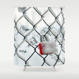 Fenced Love Shower Curtain