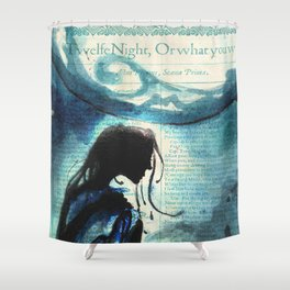 Twelfth Night Viola Shower Curtain