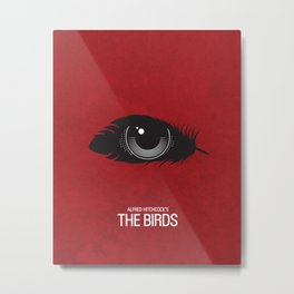 The Birds Movie Poster Metal Print
