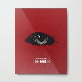 The Birds Movie Poster Metal Print