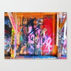 Public Pallet Canvas Print