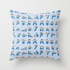 Yie Ar Kung-Fu Throw Pillow
