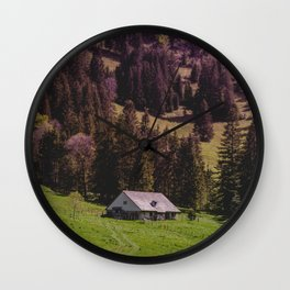 Country Side Dream Wall Clock