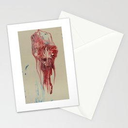 Migrant jellyfish Stationery Cards