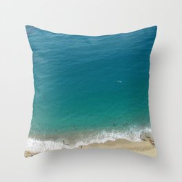 Italian Beach 1 Throw Pillow