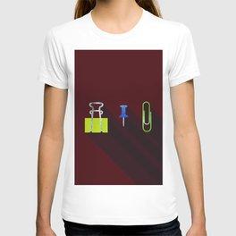 Paper Clip Tack T-shirt