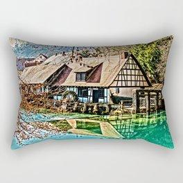 The watermill Rectangular Pillow