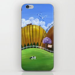 Hilly Heights iPhone Skin