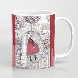 The Old Village Coffee Mug