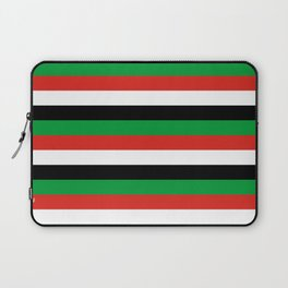 libya Sudan Syria United Arab Emirates Western Sahara flag stripes Laptop Sleeve