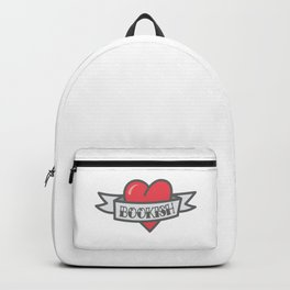 My Heart Beats for Books Backpack