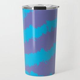 Blue-Purple Pattern Travel Mug