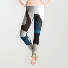 Swallow-tailed Hawk Leggings