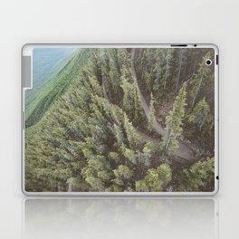 Forest Landscape Photography | Ariel View | Banff Gondola | Alberta | Canada Laptop & iPad Skin
