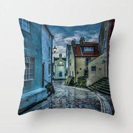 Cobbled Way Throw Pillow