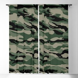 Military Camouflage Blackout Curtain