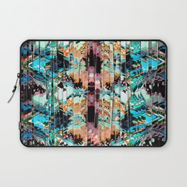 Colorful Abstract In Shreds Laptop Sleeve