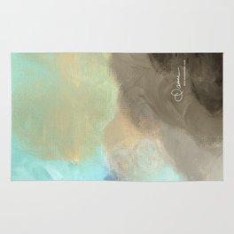 Abstract cloud Rug